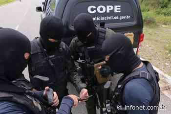 Cope prende mais dois homens envolvidos no assalto ao BB de Pacatuba - Infonet