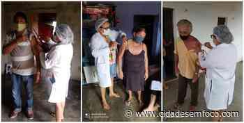 Jacobina do Piauí começa vacinação contra a Covid-19 de pessoas com 60 a 64 anos de idade - Cidades em Foco