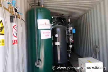 Por la poca pureza de oxígeno, planta de hospital de Ilave corre el riesgo de no instalarse - Pachamama radio 850 AM