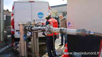 Douvrin : opération coup de poing contre les eaux rousses - La Voix du Nord
