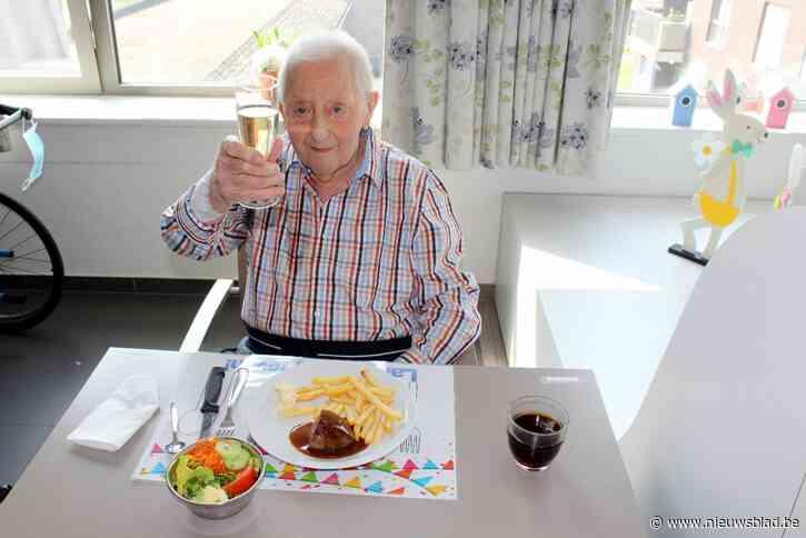 Nu ook 101-ste verjaardag in coronatijd voor Marcel