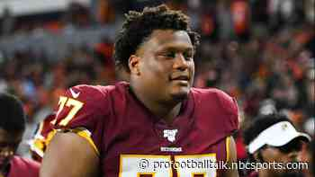 "Ereck Flowers ""excited and anxious"" to get back with Washington"