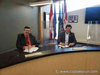 M.D. and Town of Bonnyville sign intermunicipal collaboration framework - The Cold Lake Sun