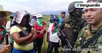 Combates en zonas rurales de Corinto y Caloto luego de operativo judicial - Vanguardia
