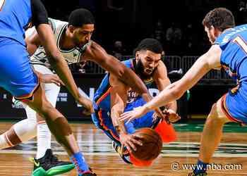 Game Recap: Thunder 119, Celtics 115