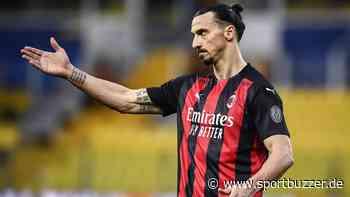 Nach Schiedsrichter-Kritik: Mailand-Star Zlatan Ibrahimovic für ein Spiel gesperrt - Sportbuzzer
