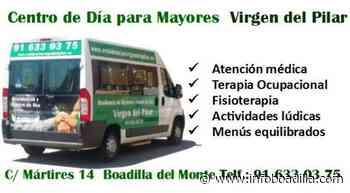 Centro de Día para Mayores - Boadilla del Monte - RESIDENCIA VIRGEN DEL PILAR Descuentos y ofertas en InfoBoadilla.com - InfoBoadilla.com