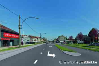 Nieuwe fase werken Bergensesteenweg: verkeer richting Halle omgeleid