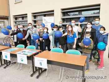 Des ballons bleus pour sensibiliser le public au diabète - La Montagne