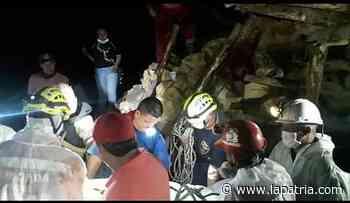 Murió dentro de la mina en Marmato - La Patria.com