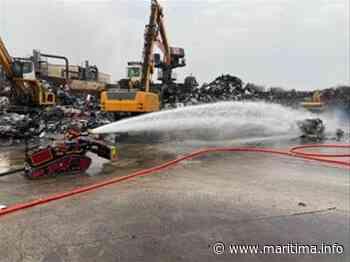 Un feu d'entrepôt à Gignac - Gignac la Nerthe - Faits divers - Maritima.info