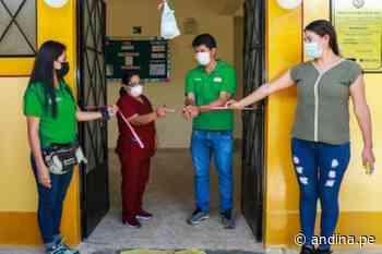 Estrategia Vraem 2021: Devida culmina mantenimiento de puesto de salud en Mazamari - Agencia Andina