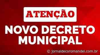 Prefeito Fernando Breno edita novo decreto municipal – Jornal de Coromandel - Jornal de Coromandel