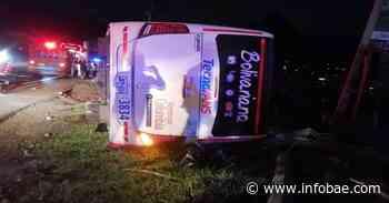 Accidente en vía Fusagasugá-Silvania dejó un muerto y varios heridos - infobae