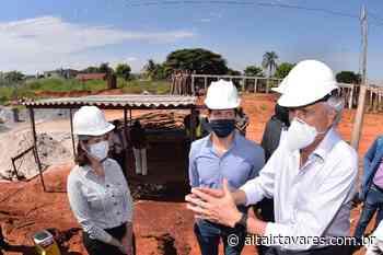 Caiado visita obras de escola em Senador Canedo e estima atender mais de mil alunos - Altair Tavares