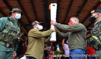 La Antorcha Bicentenaria fue recibida por el alcalde Gustavo Gutiérrez de Naguanagua - El Carabobeño