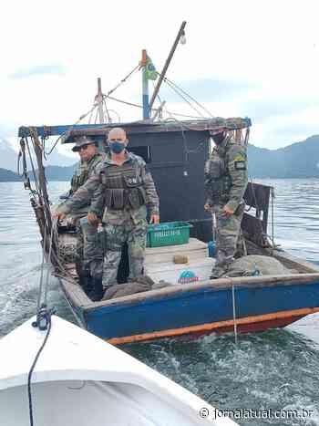 Pesca ilegal é interrompida em Mangaratiba - Jornal Atual