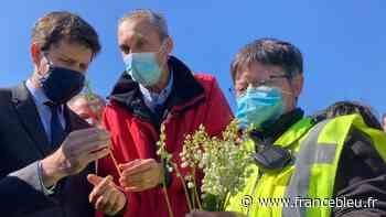 Saint-Philbert-de-Grand-Lieu : deux ministres en déplacement dans une exploitation de muguet - France Bleu