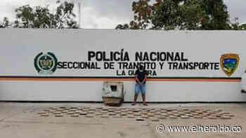 Incautan 108 kilos de cocaína y capturan a una persona en Dibulla - EL HERALDO