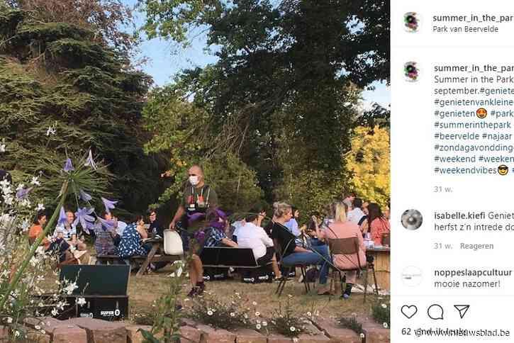 Influencers Kim Van Oncen en Lize Feryn… dobberen wél al in het Park van Beervelde