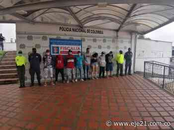 Con ocho judicializaciones fue desarticulada la organización delincuencial Venecia en Dosquebradas - Eje21