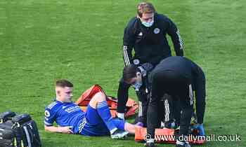 Leicester winger Harvey Barnes out for the rest of the season with knee injury