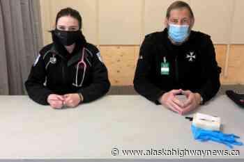 St. John Ambulance among volunteers at Fort St. John vaccine clinic - Alaska Highway News