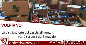 VOLPIANO – La distribuzione dei pacchi alimentari verrà sospesa dal 5 maggio - ObiettivoNews