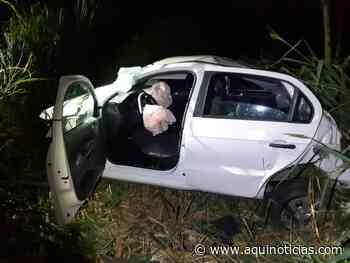 Ibatiba: motorista tenta fugir da PRF, sofre acidente e é preso com 3kg de cocaína - Aqui Notícias - www.aquinoticias.com