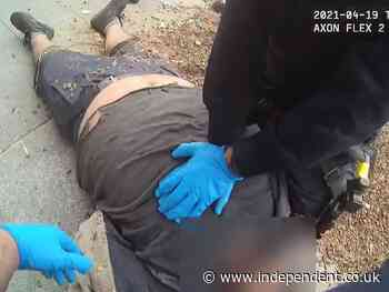 Man dies after being pinned to the ground for five minutes by California cops