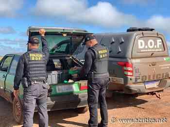 Veículo que seguia com maconha para Ivinhema foi apreendido pelo DOF durante a Operação Hórus - Portal do Jornal A Crítica de Campo Grande/MS