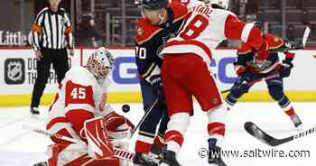 Mathias Brome's goal holds up as Red Wings down Panthers | Saltwire - SaltWire Network