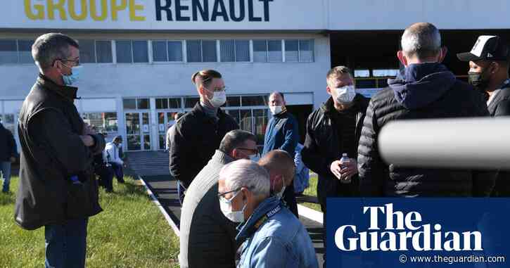 French Renault workers take managers captive in bid to stop factory sale