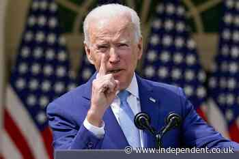 Biden joint session address - live: President backed by majority as Giuliani's 'devices seized' in home raid