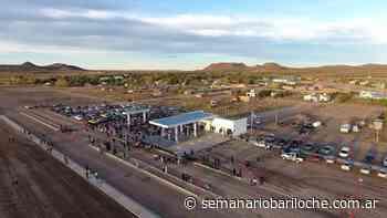 Sierra Colorada: Inauguró la Estación de Servicio Municipal - Semanario Bariloche