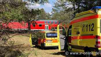 Rettungseinsatz: Bahnstrecke zwischen Ruhland und Lauchhammer für mehrere Stunden gesperrt - Lausitzer Rundschau