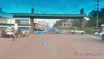 Porto de Vila do Conde é fechado por trabalhadores durante protesto - G1