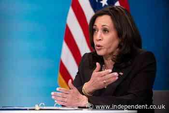 Harris, Pelosi to make history seated behind Biden at speech