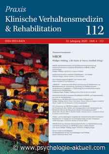27.04.2021 Medizinisch-beruflich orientierte Rehabilitation: Die Mehrheit gewinnt eine positive Berufsperspektive - Psychologie aktuell
