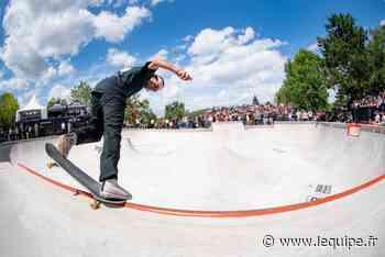 Les Championnats de France de skateboard à Chelles sans Vincent Matheron - L'Équipe.fr