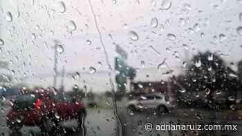 #Juarez   Se espera lluvia y vientos en la ciudad para este día - Adriana Ruiz