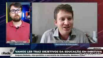 Secretário aponta estratégias para Educação em Imbituva | A Rede - Aconteceu. Tá na aRede! - ARede