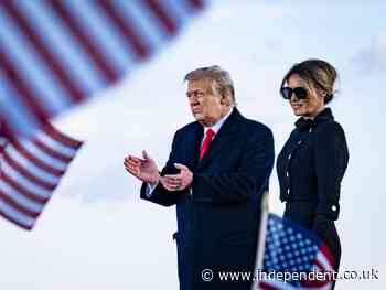 Melania happy and relaxed since leaving White House, report says