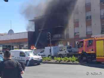 Incendie avenue Roosevelt à Meaux : intervention éclair des pompiers - actu.fr