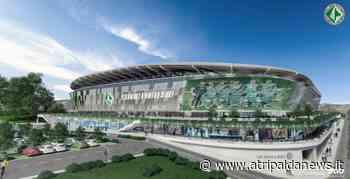 Svelato il nuovo stadio Partenio-Lombardi dell'Us Avellino 1912. Foto - Atripalda News