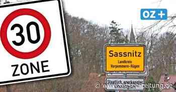 Sassnitz auf Rügen: Bürgermeister will ganze Stadt zu Tempo-30-Zone machen - Ostsee Zeitung