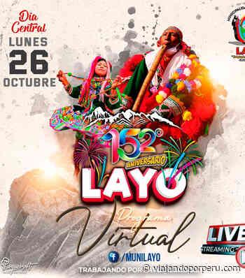 Siguiente Cusco: Programa de 152 aniversario del distrito de Layo - Viajando por Perú