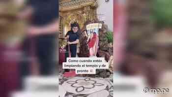 """Junín: """"Tenía que buscar una forma de llegar al corazón de las personas"""", dice sacerdote que causa sensación en Tiktok [VIDEO] - RPP Noticias"""