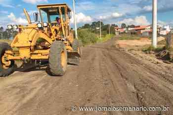 Capivari: Estrada do Pinhalzinho recebe melhorias - Jornal O Semanário