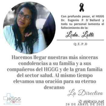 Muere enfermera del Hospital de Guatire, Lotty Colmenares, por COVID-19 - El Pitazo